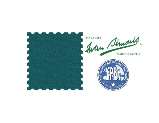 Sukno pool Simonis 860 blue-green