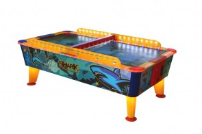 air hockey 8ft Shark