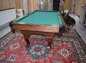 kulecnikovy stul grand pool 6ft instalace