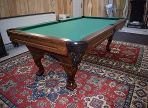 kulecnikovy stul grand pool 6ft instalace 1